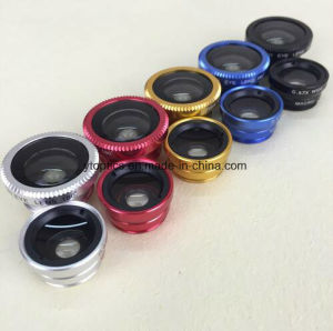 3 in 1 Lens Camera Lens Fish Eye, Wide Angle, Macro Lens for iPhone 6/6 Plus pictures & photos