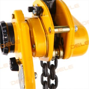 0.75ton Chain Lever Block with Plastic Handle pictures & photos