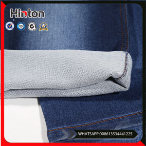 Washed Cotton Spandex Lycra Stretch Blended Denim Fabric pictures & photos