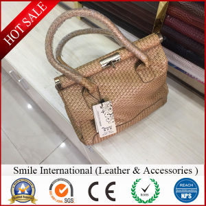 PVC Artificial Leather Can Do for Shoes and Hangbags pictures & photos