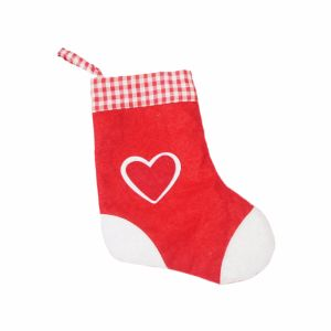 100% Polyester Christmas Stocking for Christmas Gifts pictures & photos