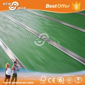 Melamine Faced 20mm Slotted MDF Board / Grooved MDF Panel pictures & photos