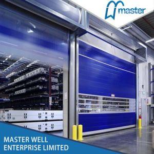 PVC Fast Roller Shutter Door/ PVC High Speed Roller Door pictures & photos