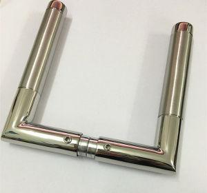 European Styple Stainless Steel Satin+ Polish Lever Door Handle pictures & photos