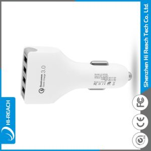 Wholesale Mobile Phone 5V 4 USB Car Charger pictures & photos