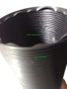 Plastic Flexible Pipe 3′′ ID 90cm Extended Length Black Universal pictures & photos