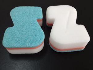 Z Shape Melamine Sponge Products. Cleaning Sponge pictures & photos