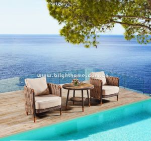 Hot Sale New Design Outdoor Wicker Sofa Set pictures & photos