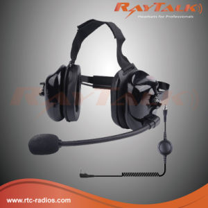 Smart Heavy Duty Headset Suits Multiple Models for Two Way Radios pictures & photos