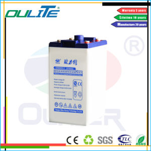 Oliter Free Maintenance 2V 500ah Lead Acid Battery pictures & photos
