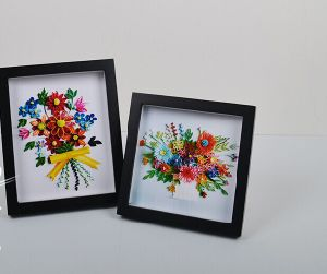 Colourful Picture Wooden Frame 25*25cm pictures & photos