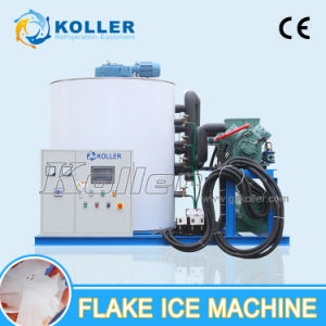 Koller Large Capacity 10 Tons/ Dya Flake Ice Machine for Fish Factpry (KP100) pictures & photos