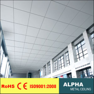 Metal Tile Suspended Aluminum Clip in Tile Ceiling pictures & photos
