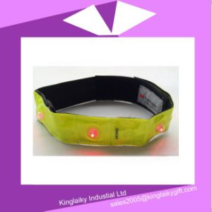 LED Reflective Safety Wristband for Transportation Ksv017-006 pictures & photos