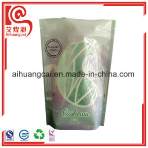Bottom Stand up Flat Ziplock Plastic Seeds Packaging Bag pictures & photos