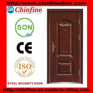 Modern Style Steel Security Door for New Home (CF-131) pictures & photos