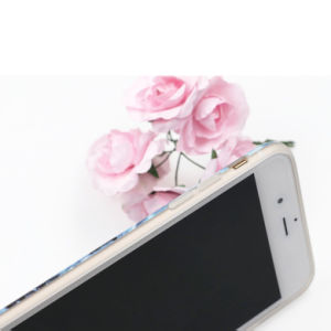 Unique Design iPhone Marble Texture Anti-Slip Flexible TPU Cover Case pictures & photos