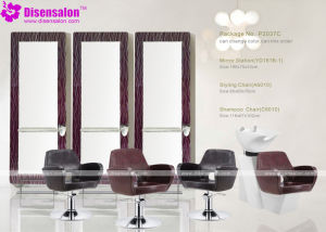 Popular High Quality Salon Furniture Mirror Barber Salon Chair (2037E) pictures & photos