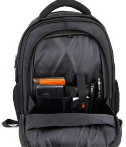 Black Modern Laptop Notebook iPad School Messenger Backpack Bag pictures & photos