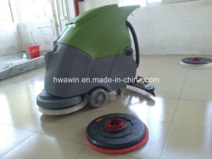 Walk Behind Floor Scrubber Machine pictures & photos