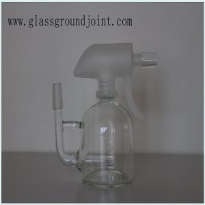Glass Smoking Water Pipe Hookah with Ground Joint pictures & photos