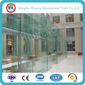 3-19mm Clear Curved Tempered Glass for Building pictures & photos