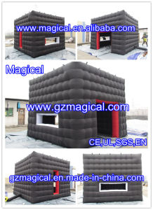 Black Inflatable Show Tent (MIC-021) pictures & photos