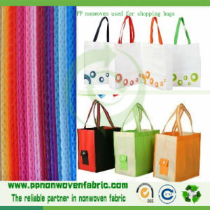 Nonwoven 100% Polypropylene Fabric Used for Shopping Bags pictures & photos