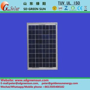 18V 20W Poly Solar Light Module for 12V System pictures & photos