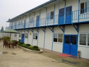 Prefabricated Light Steel Temporary Home for Worker pictures & photos