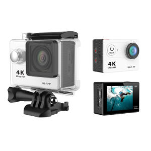 HD 4k Kamera Akcja 30m Waterproof Underwater WiFi Sport Camera