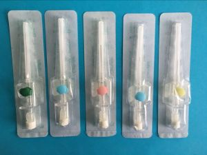 Medical Disposable IV Cannula/IV Catheter/Intravenous Catheter with Injection Port pictures & photos