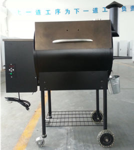 Best Design Commercial Outdoor Garden Portable Wood Pellets BBQ Smoker Grill