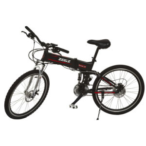 Lithium Battery 240W 36V Motor Folding E Electric Mountain Bicycle (TDE-206Z)