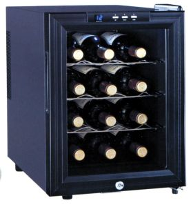 Jc-33A Electronic Red Wine Cooler/Refrigerator/Freezer pictures & photos