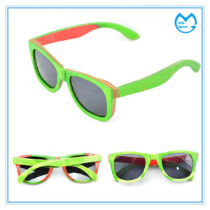 Handmade Fashion Skateboard Wooden Sunglasses for Big Faces pictures & photos
