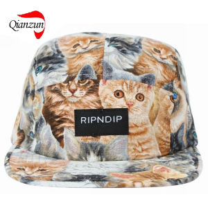 Snapback Animal Tropical Print Cap pictures & photos
