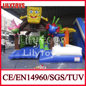 PVC Inflatable Bouncy Castle, Outdoor Bouncy Castle (J-BC-012) pictures & photos