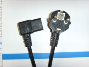 Power Cord Plug for German& Other European Country (YS-1+YS-22A) pictures & photos