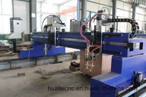 Plasma and Flame CNC Cutting Machine for Metal Plates pictures & photos