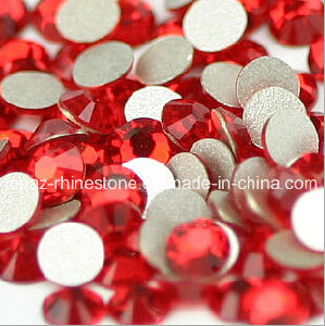 Lt Siam Colored Glass Stones Glue on Rhinestones Ss6/2mm pictures & photos