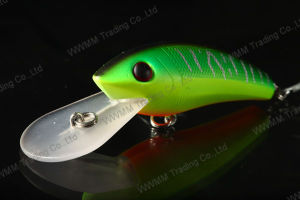 High Grade Fishing Lure Wobbler--Plastic Diving Crank Bait (HMBN85) pictures & photos