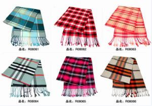 New Design Fashion Viscose Scarf (08061-08066) pictures & photos