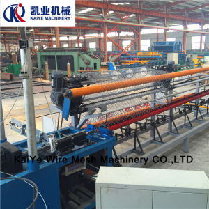 PVC Chain Link Fence Wire Mesh Machine pictures & photos