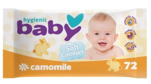 Trottie Wet Wipe Including Chamomile Essence of Water
