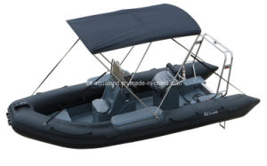 Aqualand 17feet Rigid Inflatable Fishing Boat/Rescue Patrol/Rib Motor Boats (RIB540A) pictures & photos