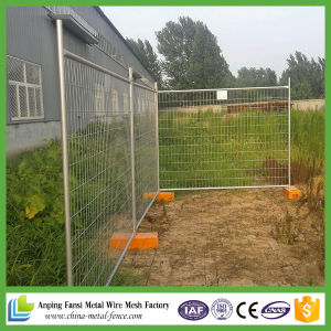 Galvanized Australia Standard Galvanized Temporary Fencing Mesh/Removable Fencing Mesh Steel Temporary Mesh Fence pictures & photos