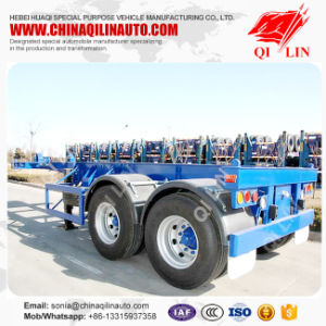 China Supplier 20FT Shipping Container Semi Trailer pictures & photos