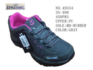 No. 49534 Gray Color Hiking Stock Shoes pictures & photos