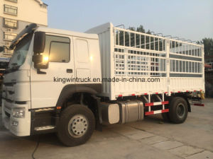 Sinotruk Brand Cargo Truck with 4X2 Driving Type/Cargo Body Truck pictures & photos
